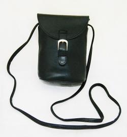 Fashionable Black Mobile Bag for Ladies - (LAC-039)