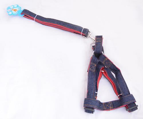 Nylon/Jeans Dog Strap - (ANP-060)