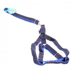 Nylon/Jeans Dog Strap - (ANP-061)