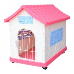 Cute Plastic Dog House - (ANP-062)