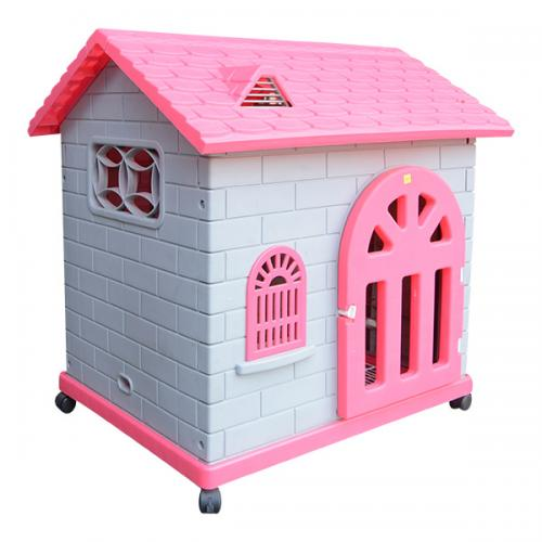 Cute Plastic Dog House - (ANP-063)