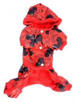 Dog Clothes With Fur Inside - (ANP-073)
