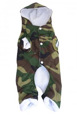 Combat Dog Clothes With Fur Inside - (ANP-075)