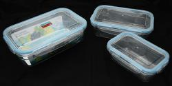 Air Tight Food Container - 3 Pieces - (TP-490)