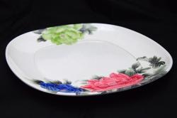 Floral Melamine Dinner Plate - (TP-494)