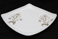 Floral Melamine Dinner Plate - (TP-495)