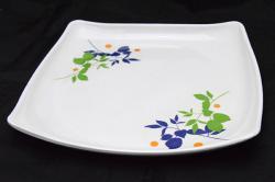 Floral Melamine Dinner Plate - (TP-496)