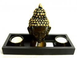 Buddha Showpiece With Diyo - (ARCH-018)