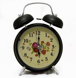 Beautiful Flower Printed Clock - (TP-535)