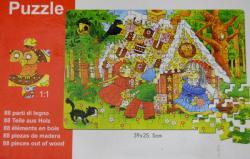 Cartoon Puzzle Game - (TP-558)