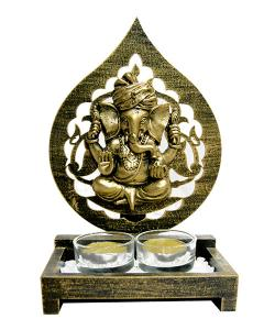 Ganesh Showpiece With Diyo - (ARCH-032)