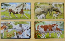 Animal Puzzle Toy - (TP-559)