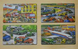 Transportation Puzzle Set - (TP-560)