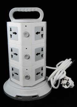 GWTEE Vertical Power Socket - (TP-542)
