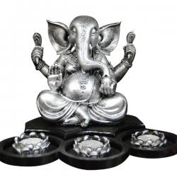 Lord Ganesh Lamp With Diyo - (ARCH-043)