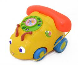 Car Style Telephone - Plastic - (TP-585)