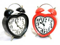 Heart Shaped Clock With Alarm - (ARCH-052)