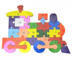 Train Puzzle Set - (TP-590)