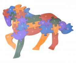 Wooden Frozen Horse Puzzle Set - (TP-592)