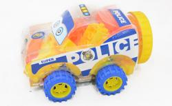 Police Car Building Blocks - (TP-597)