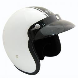 Vega Jet Old School Helmet - (SB-059)