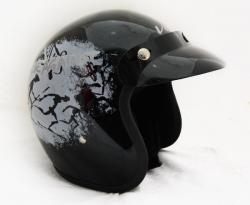 Jet Rise Against Helmet - (SB-061)