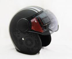 Vega Old School Helmet - (SB-066)