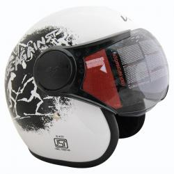 Vega Jet Old School Helmet - (SB-069)