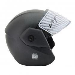 Vega Ridge Black Helmet - (SB-094)