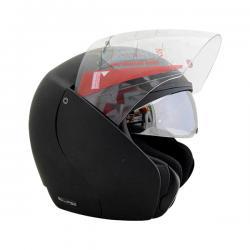 Vega Eclipse Dull Black Helmet - (SB-095)