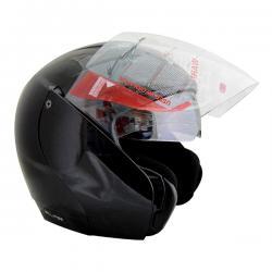 Vega Eclipse Black Helmet - (SB-097)