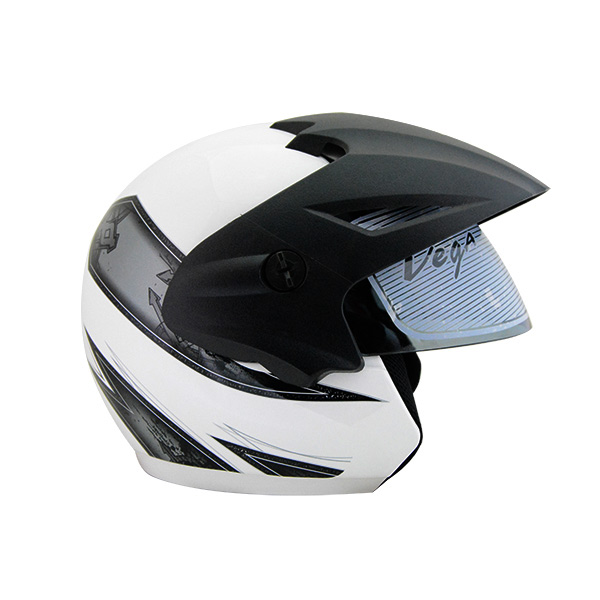 ea03081b Vega Cruiser Open Face Graphic Helmet with Peak Arrows - (SB-098) by ...