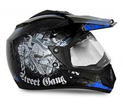 Vega Off Road Gangster Full Face Helmet - (SB-106)