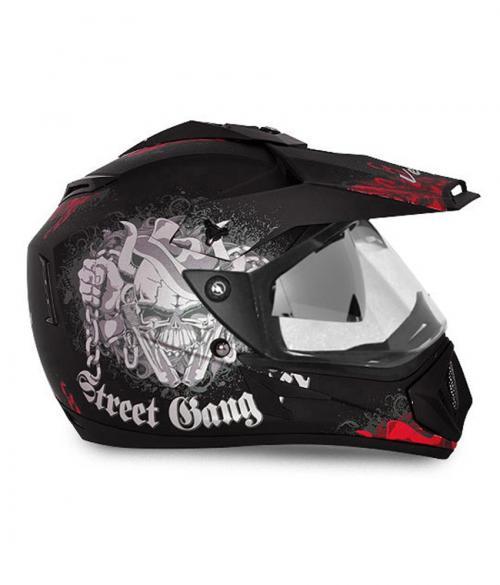 Vega Off Road Gangster Full Face Helmet - (SB-107)
