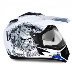 Vega Off Road Gangster Full Face Helmet - (SB-110)