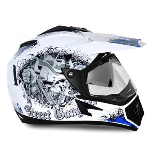 Vega Off Road Gangster Full Face Helmet - (SB-110)