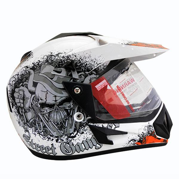 b3c9bba5 Vega Off Road Gangster Full Face Helmet - (SB-112) by Fashion Sasto ...