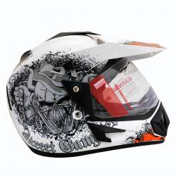 Vega Off Road Gangster Full Face Helmet - (SB-112)