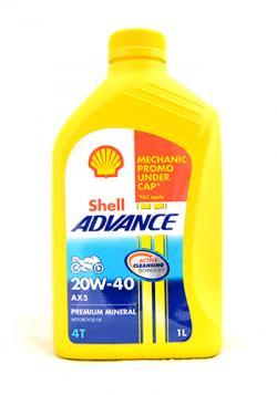 Shell Advance AX5 20W-40 - (SB-116)