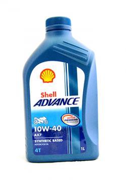 Shell Advance AX7 10W-40 - (SB-117)