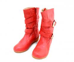 Red Long Boot For Kids - (SB-122)