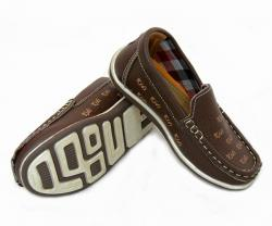Brown Fancy Running Shoes - (SB-146)