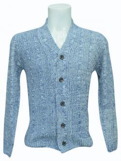Blue Woolen Outer For Men - (SB-161)