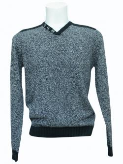 Black & Grey Mixed Fancy Sweater - (SB-162)