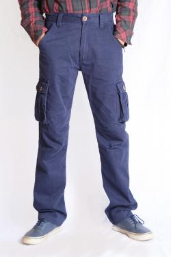 Twill Cotton Box Pant For Men - (TP-523)