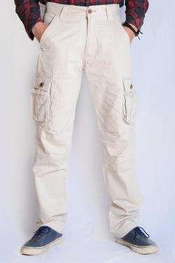 Twill Cotton Box Pant For Men - (TP-524)