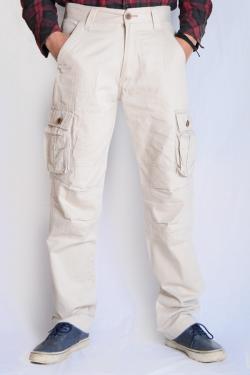 Twill Cotton Box Pant For Men - (TP-524)