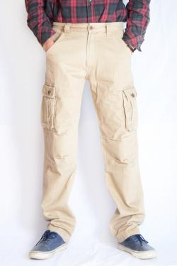 Twill Cotton Box Pant For Men - (TP-525)