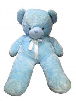 Teddy Bear Soft Toy-Blue- (HH-052)