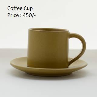 Dhok Plain Coffee Cup Set - (DK-002)